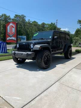 2017 Jeep Wrangler Unlimited for sale at JC Motorsports in Egg Harbor City NJ