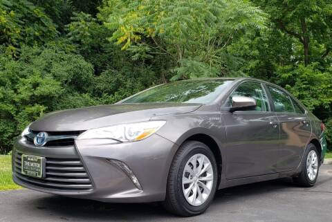 2015 Toyota Camry Hybrid for sale at The Motor Collection in Columbus OH