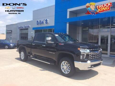 2021 Chevrolet Silverado 2500HD for sale at DON'S CHEVY, BUICK-GMC & CADILLAC in Wauseon OH