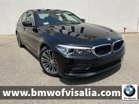 2018 BMW 5 Series for sale at BMW OF VISALIA in Visalia CA