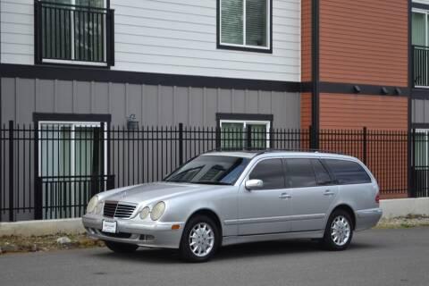 2002 Mercedes-Benz E-Class for sale at Skyline Motors Auto Sales in Tacoma WA