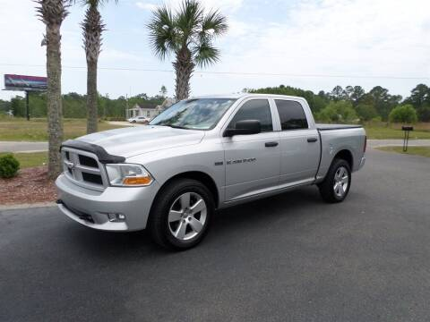 2012 RAM Ram Pickup 1500 for sale at First Choice Auto Inc in Little River SC