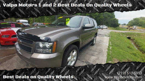 2011 Chevrolet Tahoe for sale at Valpo Motors 1 and 2  Best Deals On Quality Wheels in Valparaiso IN