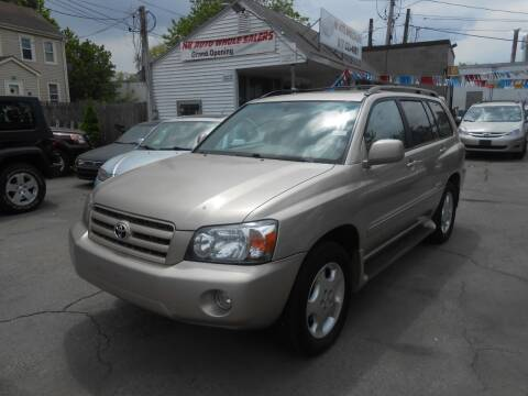 2007 Toyota Highlander for sale at N H AUTO WHOLESALERS in Roslindale MA