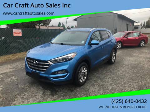 2016 Hyundai Tucson for sale at Car Craft Auto Sales Inc in Lynnwood WA