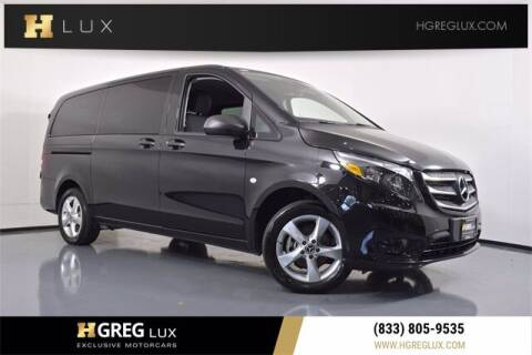 2019 Mercedes-Benz Metris for sale at HGREG LUX EXCLUSIVE MOTORCARS in Pompano Beach FL