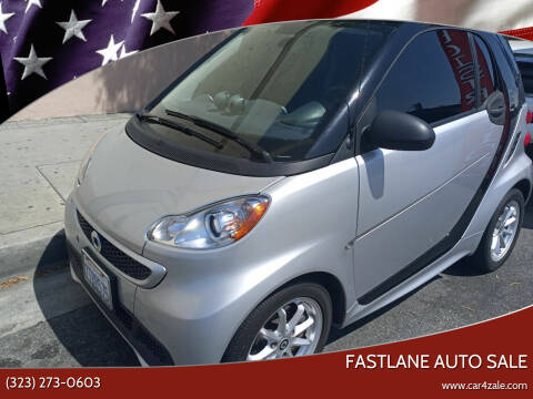 2016 Smart fortwo electric drive for sale at Fastlane Auto Sale in Los Angeles CA
