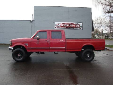 1994 Ford F-350 for sale at Motion Autos in Longview WA
