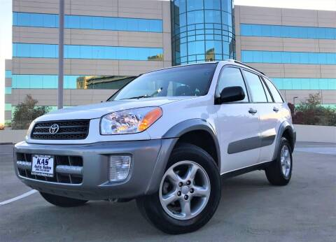 2003 Toyota RAV4 for sale at KAS Auto Sales in Sacramento CA
