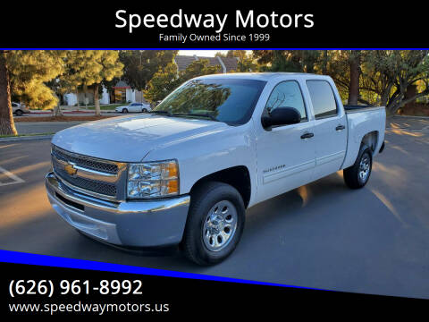 2012 Chevrolet Silverado 1500 for sale at Speedway Motors in Glendora CA
