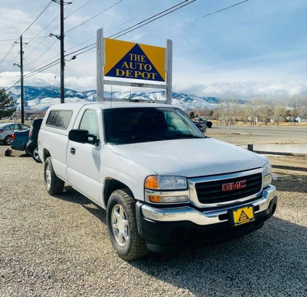 2006 GMC Sierra 1500 for sale at Auto Depot in Carson City NV