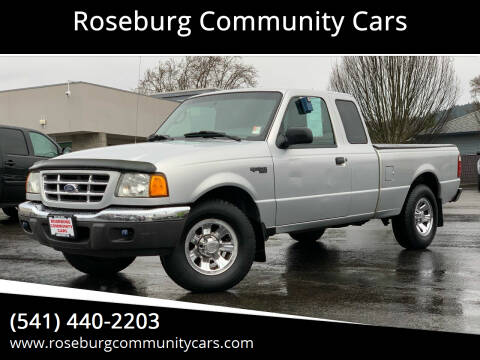 2003 Ford Ranger for sale at Roseburg Community Cars in Roseburg OR