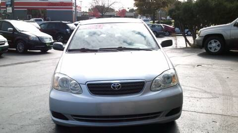 2005 Toyota Corolla for sale at JIMS AUTO MART INC in Milwaukee WI