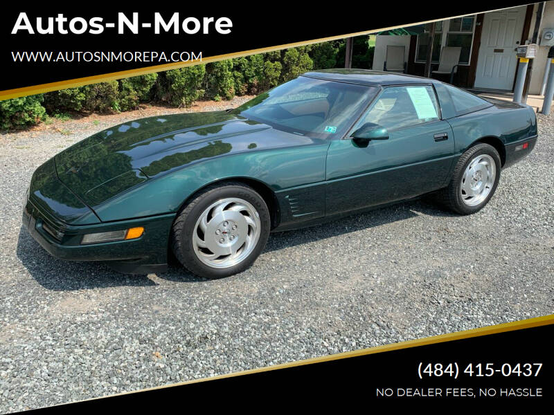 1995 Chevrolet Corvette for sale at Autos-N-More in Gilbertsville PA