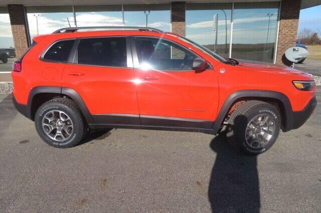2021 Jeep Cherokee for sale at DAKOTA CHRYSLER CENTER in Wahpeton ND