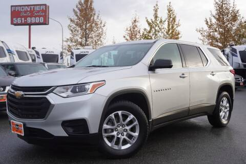 2018 Chevrolet Traverse for sale at Frontier Auto & RV Sales in Anchorage AK