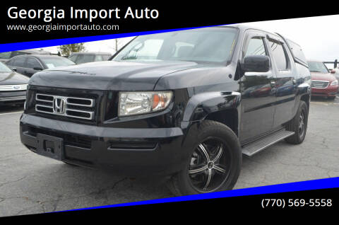2007 Honda Ridgeline for sale at Georgia Import Auto in Alpharetta GA