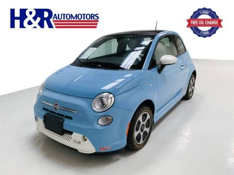 2017 FIAT 500e for sale at H&R Auto Motors in San Antonio TX