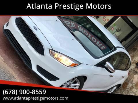 2016 Ford Focus for sale at Atlanta Prestige Motors in Decatur GA