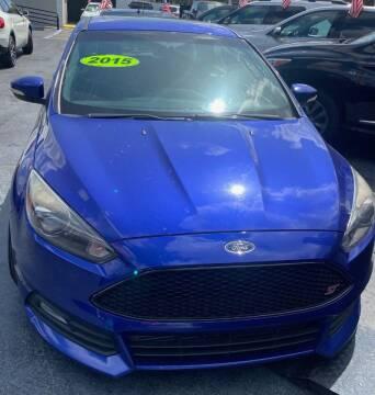 2015 Ford Focus for sale at Navarro Auto Motors in Hialeah FL