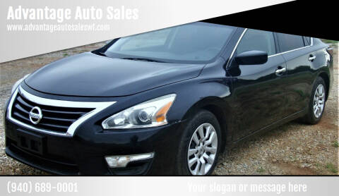 2014 Nissan Altima for sale at Advantage Auto Sales in Wichita Falls TX
