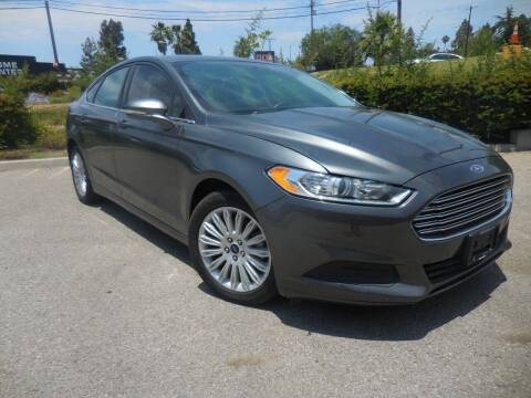 2016 Ford Fusion Hybrid for sale at ARAX AUTO SALES in Tujunga CA
