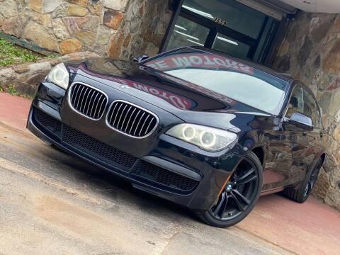 2013 BMW 7 Series for sale at Atlanta Prestige Motors in Decatur GA
