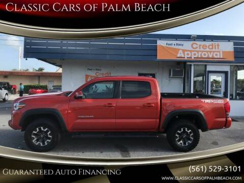 2016 Toyota Tacoma for sale at Classic Cars of Palm Beach in Jupiter FL