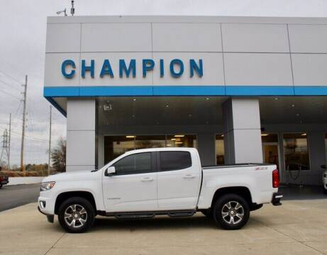 2018 Chevrolet Colorado for sale at Champion Chevrolet in Athens AL