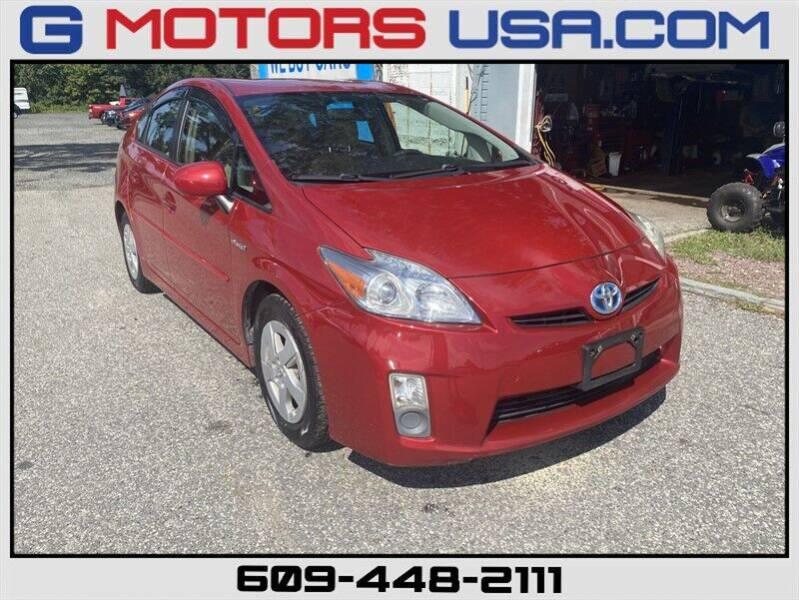 2010 Toyota Prius for sale at G Motors in Monroe NJ