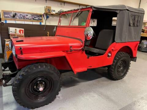 1948 Willys Jeep for sale at Classic Car Deals in Cadillac MI