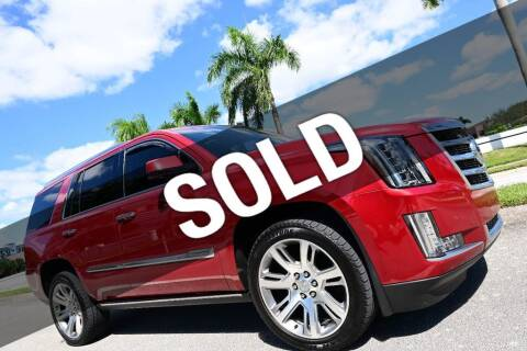 2015 Cadillac Escalade for sale at MOTORCARS in West Palm Beach FL