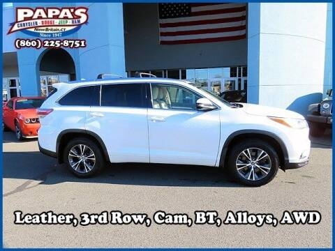2016 Toyota Highlander for sale at Papas Chrysler Dodge Jeep Ram in New Britain CT