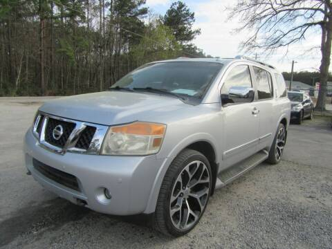 2011 Nissan Armada for sale at Bullet Motors Charleston Area in Summerville SC