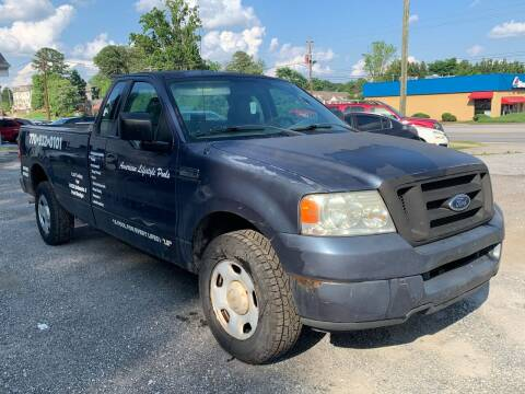 2005 Ford F-150 for sale at ATLANTA AUTO WAY in Duluth GA