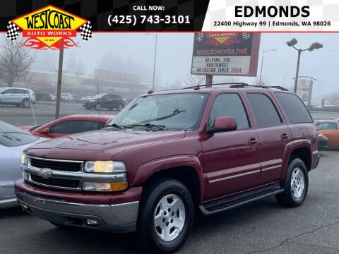 2004 Chevrolet Tahoe for sale at West Coast Auto Works in Edmonds WA