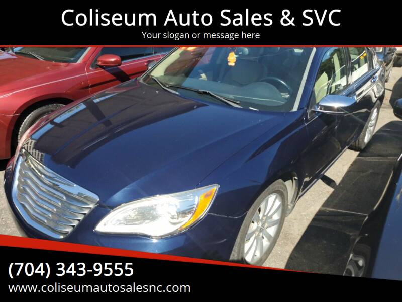 2013 Chrysler 200 for sale at Coliseum Auto Sales & SVC in Charlotte NC