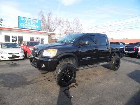 2014 Nissan Titan for sale at Surfside Auto Company in Norfolk VA