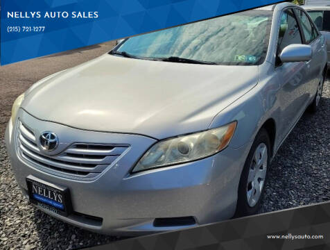 2007 Toyota Camry for sale at NELLYS AUTO SALES in Souderton PA