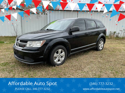 2014 Dodge Journey for sale at Affordable Auto Spot in Houston TX