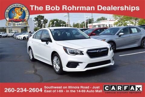 2019 Subaru Legacy for sale at BOB ROHRMAN FORT WAYNE TOYOTA in Fort Wayne IN