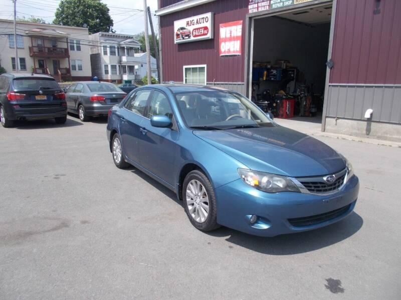2008 Subaru Impreza for sale at Mig Auto Sales Inc in Albany NY