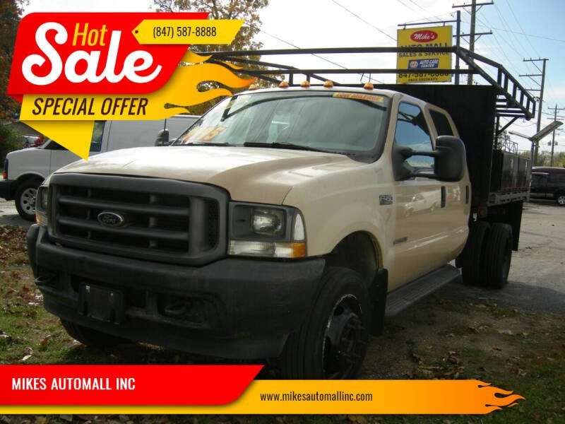 2003 Ford F-450 Super Duty for sale at MIKES AUTOMALL INC in Ingleside IL