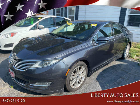 2014 Lincoln MKZ Hybrid for sale at Liberty Auto Sales in Elgin IL