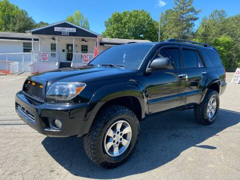 2006 Toyota 4Runner for sale at CVC AUTO SALES in Durham NC
