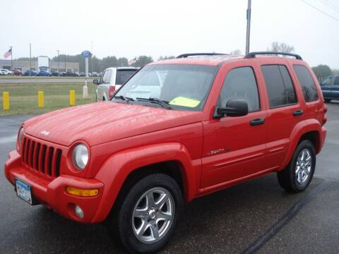 2003 Jeep Liberty for sale at North Star Auto Mall in Isanti MN
