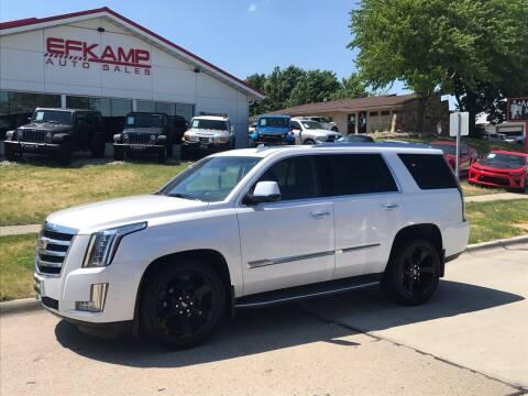2017 Cadillac Escalade for sale at Efkamp Auto Sales LLC in Des Moines IA