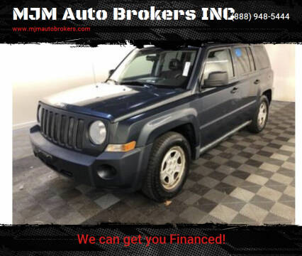 2008 Jeep Patriot for sale at MJM Auto Brokers INC in Gloucester MA