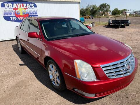2007 Cadillac DTS for sale at Praylea's Auto Sales in Peyton CO