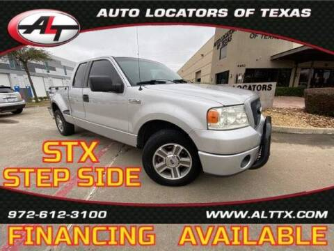 2008 Ford F-150 for sale at AUTO LOCATORS OF TEXAS in Plano TX